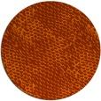 rug #820468 | round red-orange rug