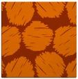 rug #820501   square red-orange graphic rug