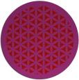 rug #821133   round pink borders rug