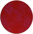 rug #821153 | round red animal rug