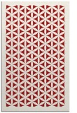 rug #821814    red borders rug