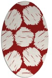 rug #821855   oval red circles rug