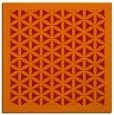 rug #822511 | square red borders rug