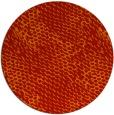 rug #822523 | round orange popular rug