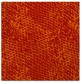 rug #822531 | square orange animal rug