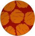 rug #822548 | round red circles rug