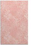 rug #823724 |  pink animal rug