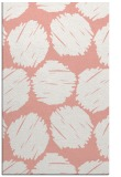 rug #823749 |  pink circles rug