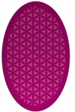 rug #825756 | oval traditional rug