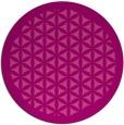 rug #825764 | round traditional rug