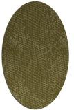 rug #826460 | oval light-green popular rug