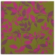 rug #827081 | square light-green popular rug