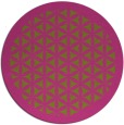 rug #827133 | round pink rug