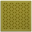 rug #828511 | square light-green borders rug