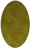 rug #828515 | oval light-green natural rug