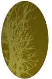 rug #828560 | oval light-green rug