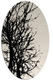 rug #831655 | oval blue-green natural rug