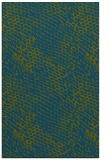 rug #832984 |  blue-green animal rug
