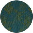rug #832988   round green animal rug