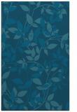 rug #833589 |  blue-green natural rug