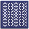rug #835031 | square blue traditional rug
