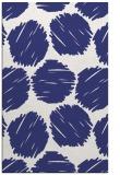 rug #835064    blue retro rug