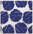 rug #835076 | square blue circles rug