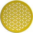 rug #835708 | round white borders rug