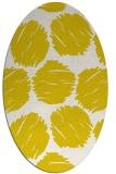 rug #835745 | oval graphic rug