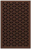 rug #836389 |  brown borders rug