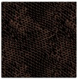 rug #836421 | square brown animal rug