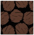 rug #836446 | square brown circles rug