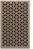 rug #837074 |  black borders rug