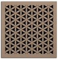 rug #837086 | square beige borders rug
