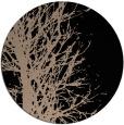 rug #837143 | round black natural rug