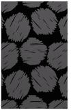 rug #837804 |  black circles rug