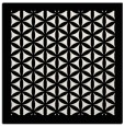 rug #838456 | square white traditional rug