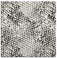 rug #838476 | square white animal rug