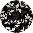 rug #839073 | round white natural rug