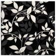 rug #839081 | square black natural rug