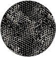 rug #839153   round black natural rug