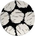rug #839178 | round white popular rug
