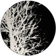rug #839198   round black natural rug