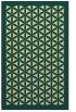 rug #839814    blue-green traditional rug