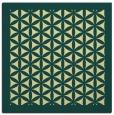 rug #839826   square yellow traditional rug
