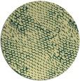 rug #839838 | round yellow animal rug