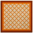 rug #841275   square orange traditional rug