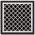 rug #841279 | square white borders rug