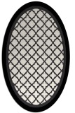 rug #841298 | oval borders rug