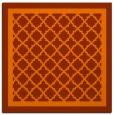 rug #841438 | square traditional rug